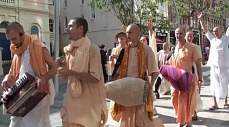 Chant Hare Krishna in UK