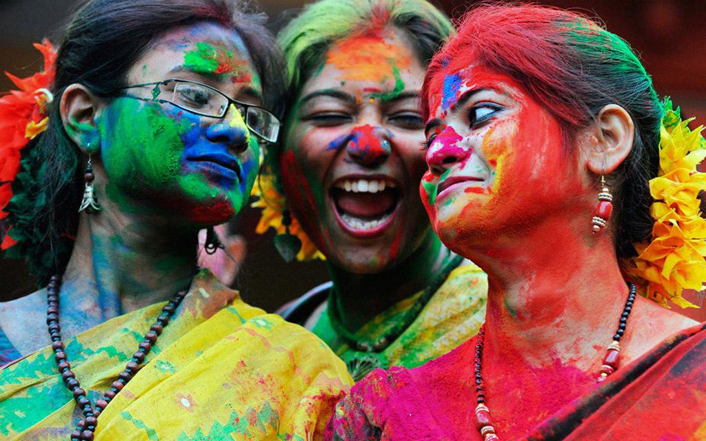 Индийские праздники краски